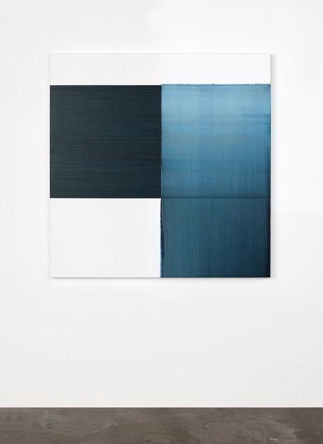 Callum Innes, 'Exposed Painting Paris Blue', 2020, Painting, Oil on linen, i8 Gallery