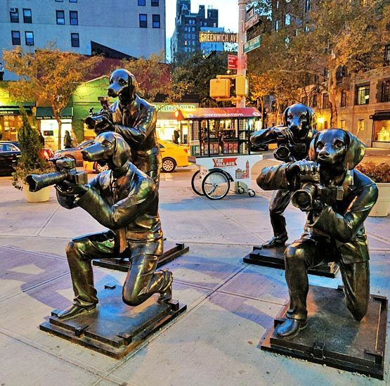 , 'Paparazzi Dogs – Greenwich Village, New York City,' , Gillie and Marc Art Gallery