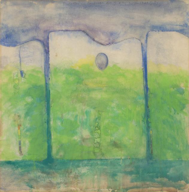 , ' Palettes in Landscape,' 1963, CFHILL
