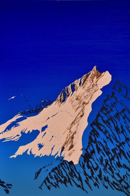, 'Momentum: Biancograt und Piz Bernina,' 2015, Galerie Palü
