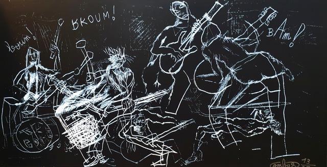 Robert Combas, 'Le Combo de Combas', Unknown, Kunzt Gallery