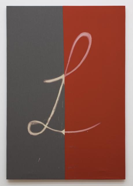 Tam Ochiai, 'L', 2012, Painting, Bleach on fabric, Tomio Koyama Gallery