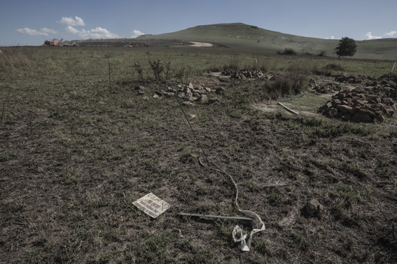 , 'Driefontein graves, exhumation in progress,' 2012, MAKER