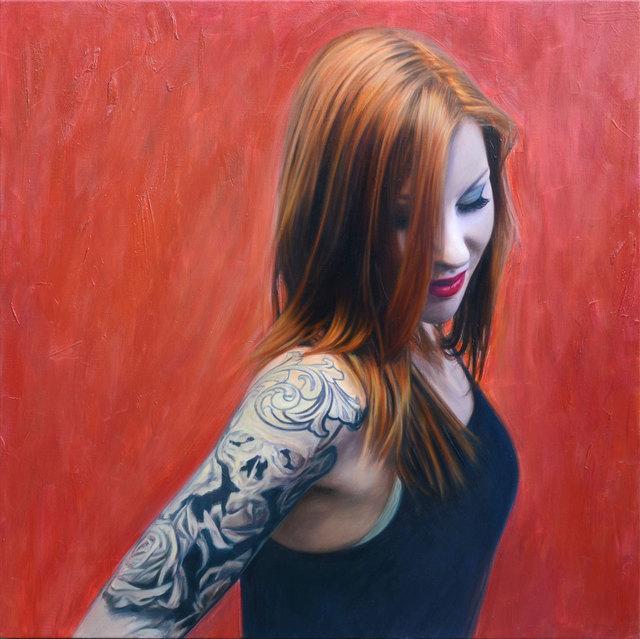 , 'Red,' 2018, Albemarle Gallery | Pontone Gallery