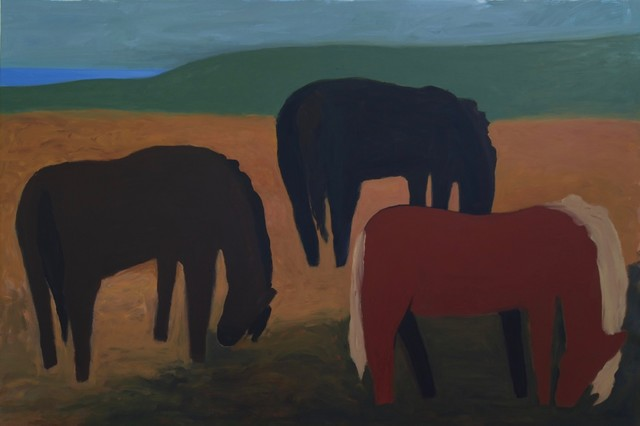 , 'Icelandic Horses Grazing,' 2017, Cerulean Arts
