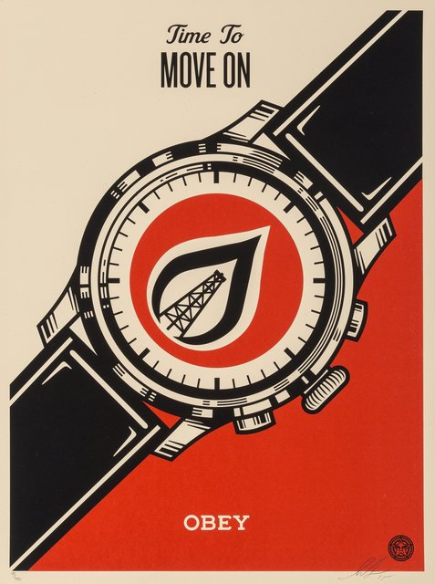 Shepard Fairey, 'Time to Move On', 2015, Heritage Auctions