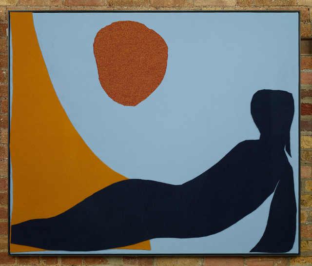 , 'Body Landscape in the sun,' 2017, Galería OMR