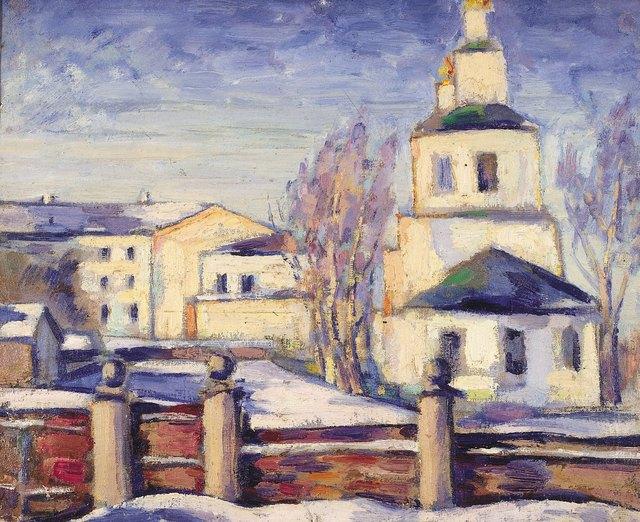 Anton Stanislavovich Yastrzhembsky, 'Krasnoye Factory (Sormovo)', 1924, Surikov Foundation