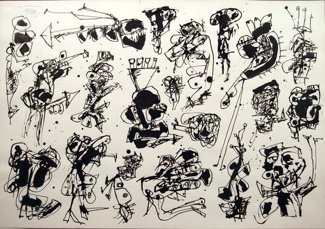 , 'Las mutaciones,' 1961, Fernández-Braso