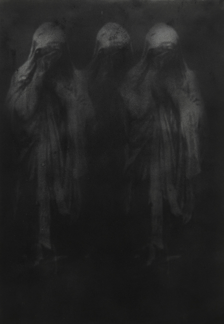 , 'The end of the sacred,' 2018, Galleria Heino