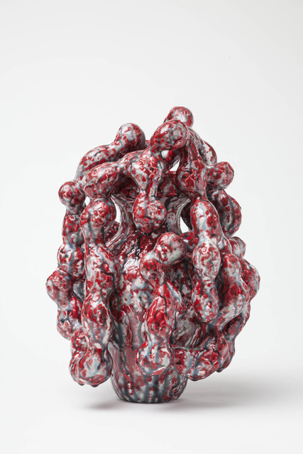 , 'Red and Gray Horror,' 2013, Jason Jacques Gallery