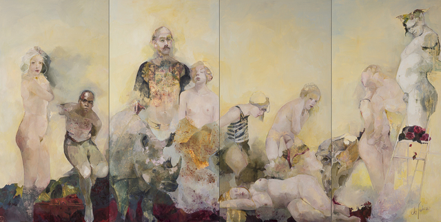 , 'Hyacintha's dream,' 2018, Galerie Calderone