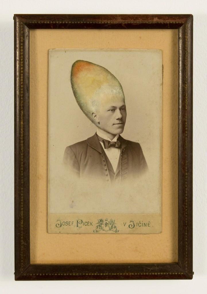 Untitled (Cone Head Man)