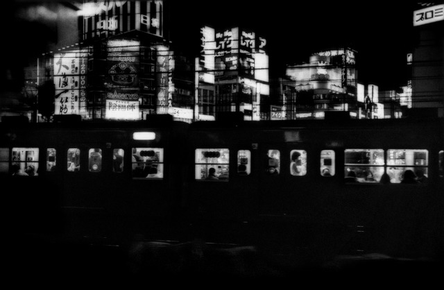 , 'Chuo Line train coming into Shinjuko Station, Tokyo, Japan,' 2005, Sous Les Etoiles Gallery