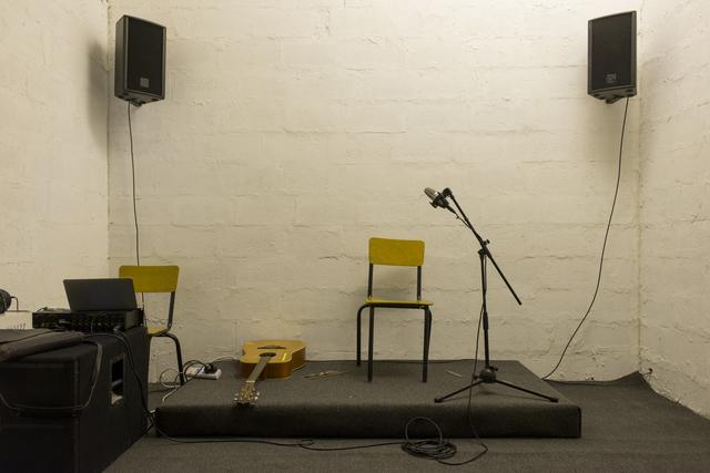 , 'Sound Capsule,' 2016, Beirut Art Center