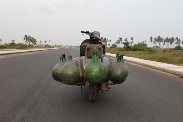 Romuald Hazoumè, 'ZoCooter', 2019, Sculpture, Metal and glass, Magnin-A