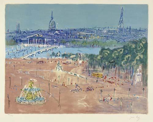 Jean Dufy, 'Place de la Concorde', 1935, Van der Vorst- Art
