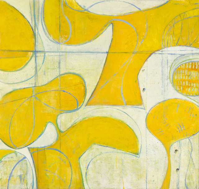 , 'Yellow & Blues for Frankie,' 2015, Seager Gray Gallery