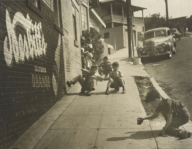 , 'East L.A. Skateboarders,' 1950s, J. Paul Getty Museum
