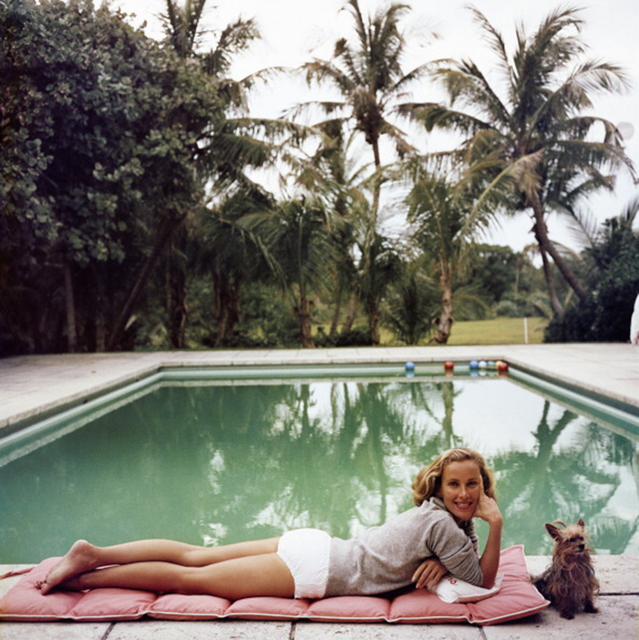 , 'Having a Topping Time, 1959: Socialite Alice Topping relaxing poolside in Palm Beach,' 1959, Staley-Wise Gallery
