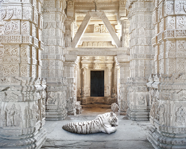 ", 'Becoming Arihanta, Sahastrabahu Temple, Gwalior. From the series ""India Song"",' , Danziger Gallery"