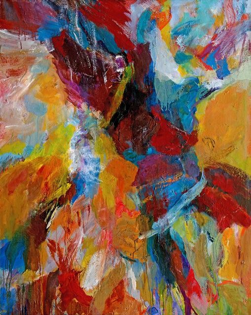 Shirley Jaffe, 'The Plume', 1959, Galerie Nathalie Obadia
