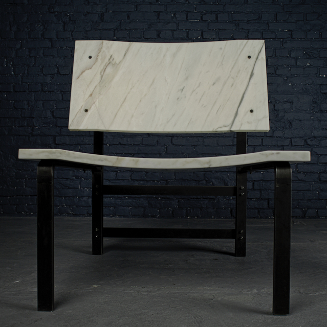 , 'Low armchair,' 2015, Galerie Yves Gastou