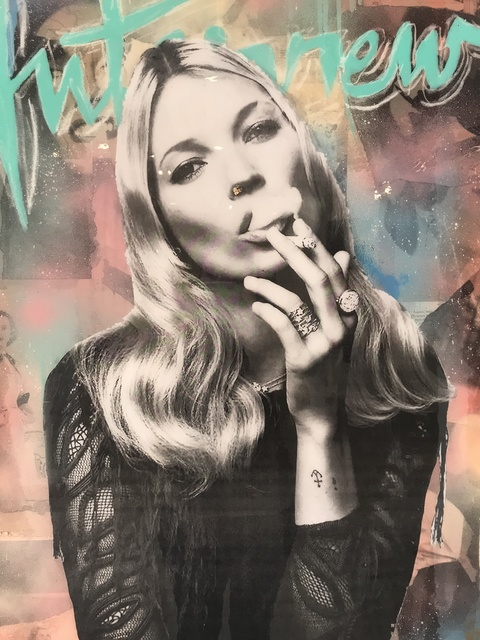 , 'Kate Moss,' 2018, THE WHITE ROOM GALLERY