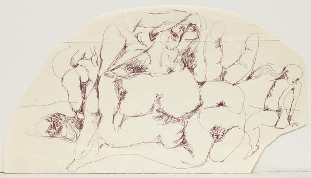 , 'Paysage humain (du cycle « Paysages humains ») ,' 1972, Loevenbruck