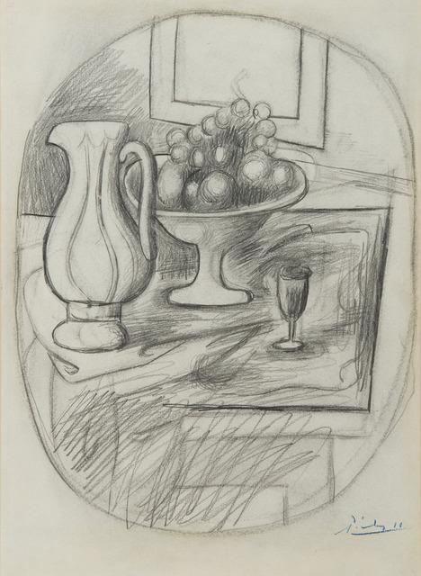 , 'Compotier avec poire et pomme,' 1919, BAILLY GALLERY