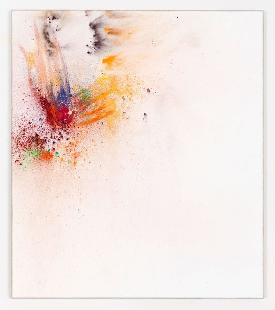 Thilo Heinzmann, 'O. T.', 2019, Painting, Oil and pigment on canvas, plexiglass cover, Perrotin