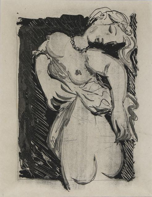 """Pablo Picasso, 'La Puce (Marie-Thérèse), """"The Flea""""', 1936 -1942, Galerie Jean-François Cazeau"""
