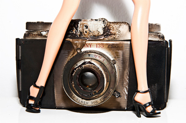 Tyler Shields, 'Camera Barbie', 2012, Vernissage Art Advisory