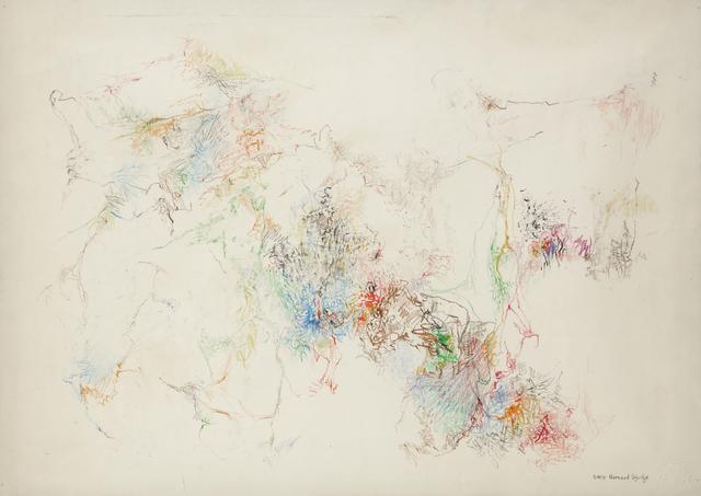 Bernard Schultze, 'Untitled', 1958, Kloser Contemporary Art