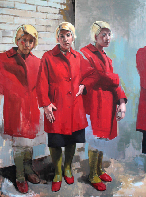 , 'Red Coat,' 2017, A Gallery