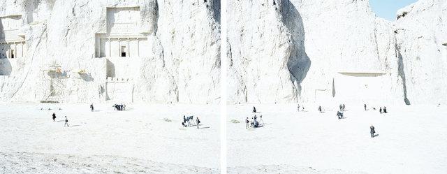Walter Niedermayr, 'Naqsh-e Rostam, Iran 94', 2006, Photography, Digital pigment print on baryte paper, Galerie Nordenhake