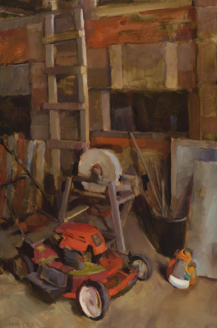 Connie Hayes, 'Red Lawn Mower', Dowling Walsh