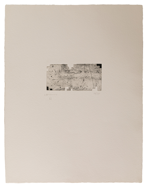 Eduardo Chillida, 'Itsasoratu II', 1998, Zeit Contemporary Art