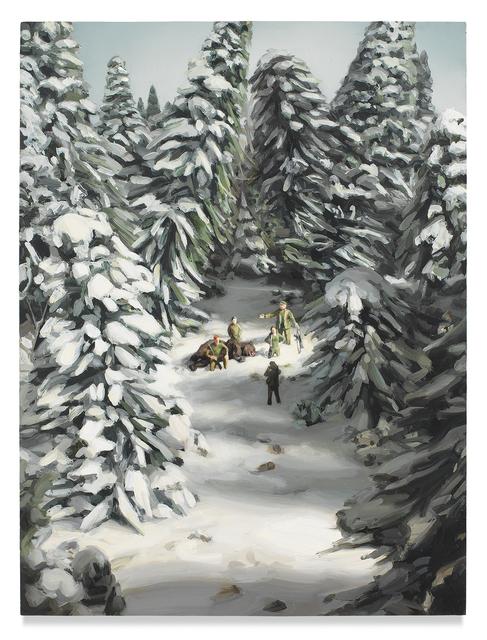 , 'Bear Hunt,' 2017, Miles McEnery Gallery