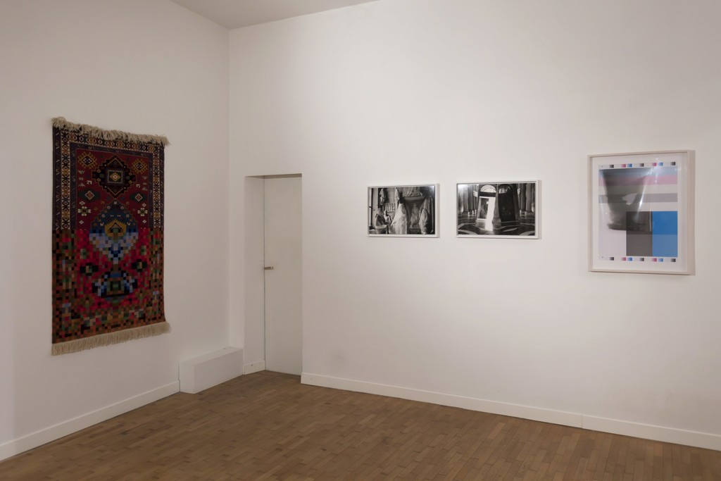 "Installation view ""Five Years"" — Faig Ahmed, Milton Gendel, Luca Piovaccari"