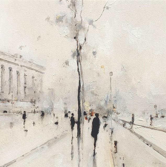 Geoffrey Johnson, 'Avenue Trees IV', 2019, Shain Gallery