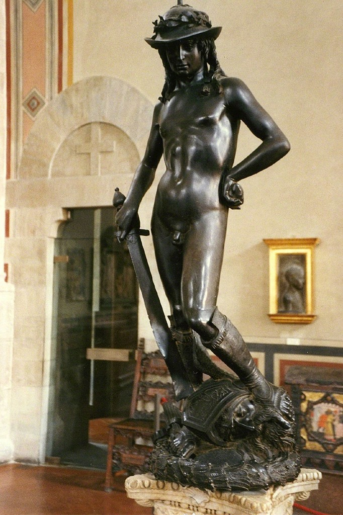 Donatello, 'David,' 1428-1432, Art History 101