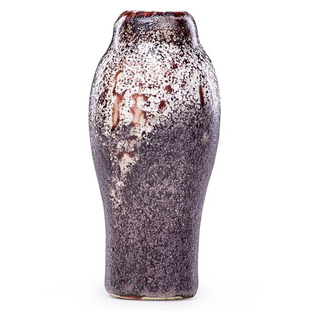 Ernest Chaplet, 'Fine Volcanic Oxblood Vase, France', Late 19th C., Rago/Wright