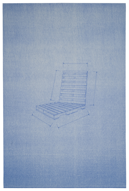 , 'Blueprint Drawing 1,' , Sienna Patti Contemporary