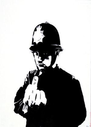 Banksy, 'Rude Copper', 2003, Vogtle Contemporary