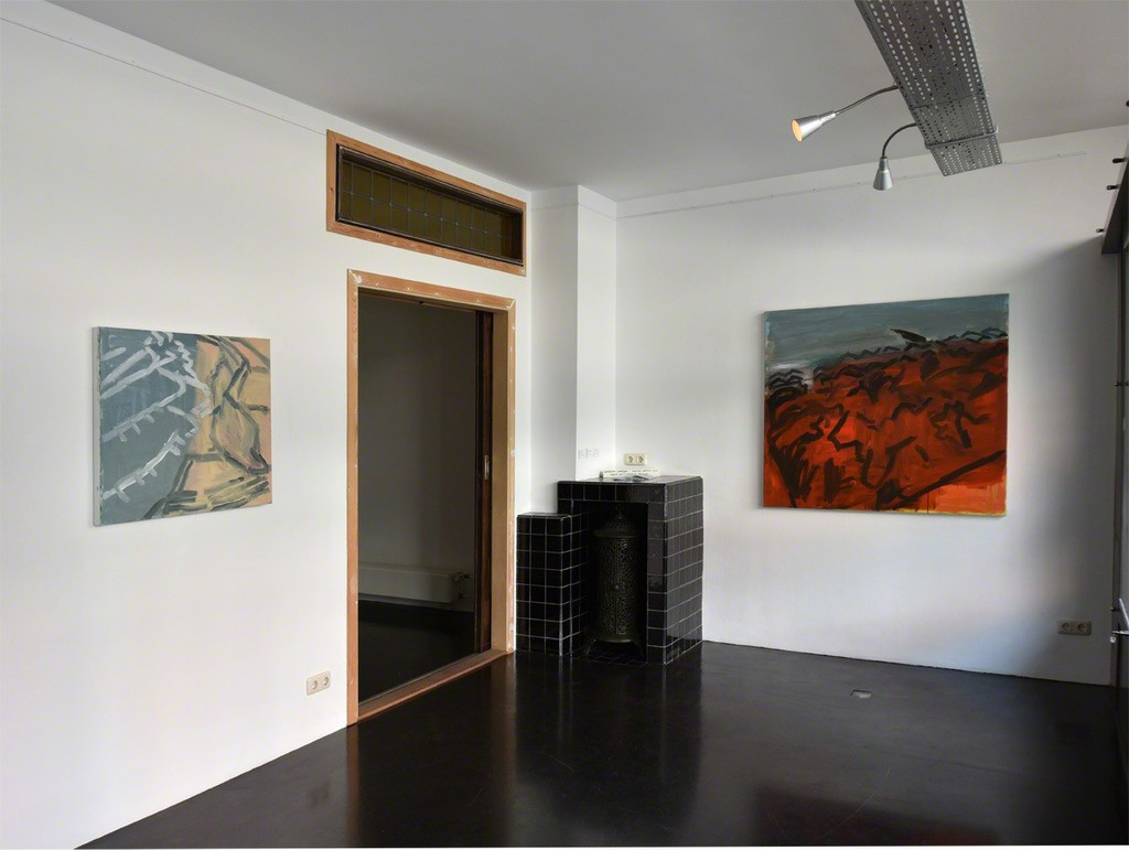 Installation overview. Solo Show by Simon Carter