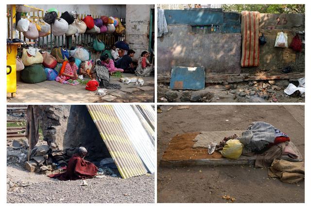 , 'Mumbai: A Laundry Field,' 2007, Galleria Raffaella Cortese