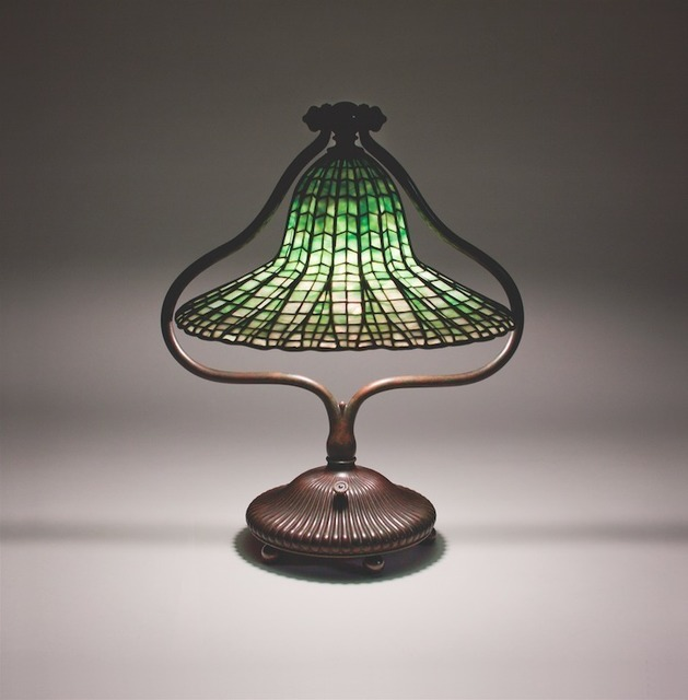 , 'Lotus Bell Table Lamp,' ca. 1906, Lillian Nassau LLC