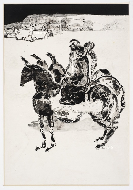 , 'Illustration no. 1 for Tayeb Salih's novel Maryoud,' 1977, Vigo Gallery
