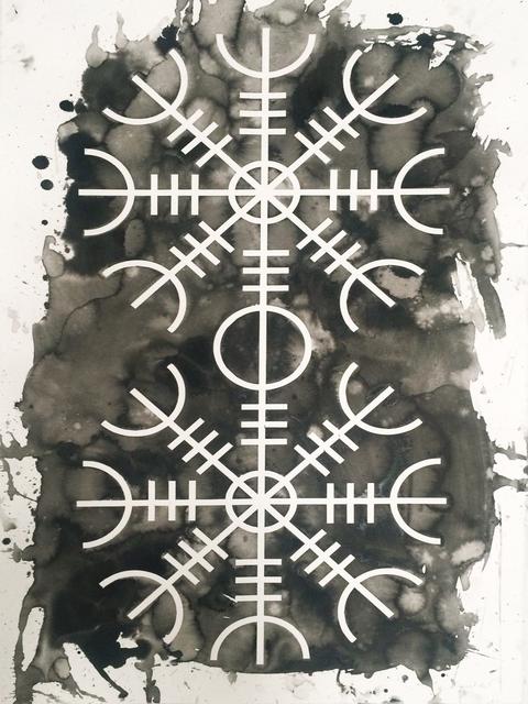 , 'Totem (Aegisjálmur),' 2015, ADN Galeria (Barcelona)
